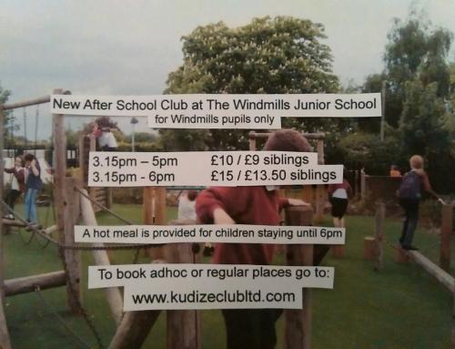 NEW after school club at The Windmills Junior School