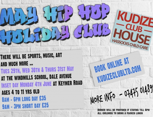 May Hip Hop Half Term Holiday Club