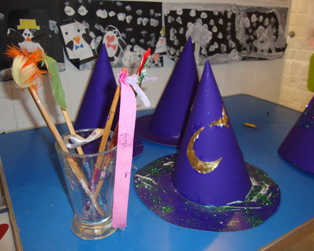 wizarding school at the holiday club