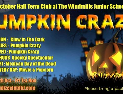 Pumpkin Crazy October Holiday Club